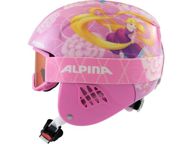 Alpina Carat Set Disney Hjelm Børn, Rapunzel